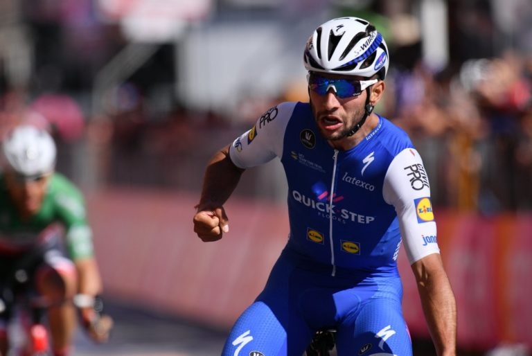 Fernando Gaviria sprints to stage five victory at Giro d'Italia